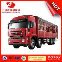 2014 Hot selling custom HONGYAN GENLYON 8*4 transportation truck
