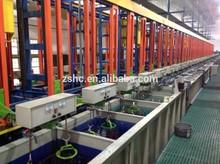 Automatique baril de zinc, d'étain, golden, argent métal galvanoplastie machines
