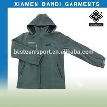 long sleeve waterproof jacket with detachable hood STA-60