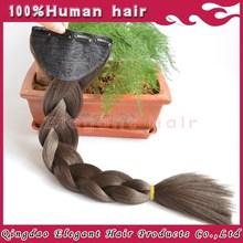 Kanekalon jumbo braiding hair/ natural color synthetic braiding hair / dip dye natural jumbo braid hair