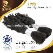 wholesale black japanese fiber synthetic hair bulk products