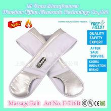 Chastity Belt with Dildo & Butt Plug, Massage Belt, F-716B The Massage Belt with knocking drum rhythms for Neck and Shoulder