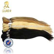 japanese kanekalon fiber synthetic blonde hair bulk