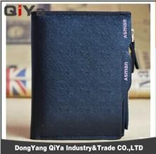 Fashion Waterproof Genuine Man Leather Short Travel Wallet