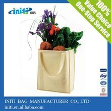 China Cotton Shopper /High quality Eco Friendly Popular Canvas Bag Shopping Bag