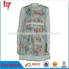 OEM custom vestidos lady applique work prom patchwork dresses