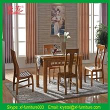 Günstigen preis weißeiche Allianz holztisch Küche und Esszimmer Tisch und Stühlen( 612#)