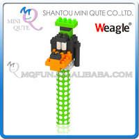 Mini Qute Kawaii kids Standing Dogs Weagle diamond nano blocks pen plastic cube building blocks bricks educational toy NO.2296