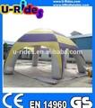 Personalizado cúpula aranha tenda gramado inflável para o evento