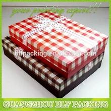 BLF-GB623 new pattern printed paper underwear packaging box design