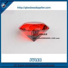 beauty k9 quality glass shinning facet machine cut crystal diamond