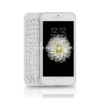 Wireless Bluetooth Keyboard Case For Apple iPhone 6, For iPhone 6 Slide Keyboard case