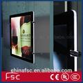Guangzhou fabricante magnética de acrílico llevó el panel
