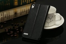 Leather Mobile Phone Protective Sleeve left Right Side Open Book Folio Flip Case for huawei