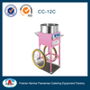 Electric homeuse cotton candy floss machine With Cart