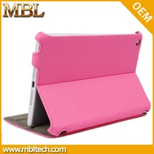 For ipad mini 2 auto sleep wake function hot selling pu leather case for ipad mini