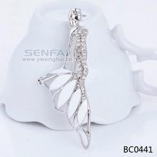 china wholesale brooch six colour mermaid brooch