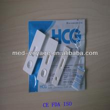 medical FDA CE OEM Private Custom 3.0mm HCG Rapid Test Cassette rapid test kit