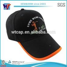 Promotional stylish customized cotton sport 6 panel baseball cap hats with embroidery/print logo