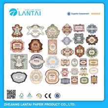 Customized OEM wholesale high quality custom round label