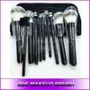 Wholesale Make Up Brush Kit/10pcs Black Makeup Brush Set