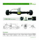 CYAB-160J, 2 speed Differential axle for rickshaw passenger Electric tricycle CY indian