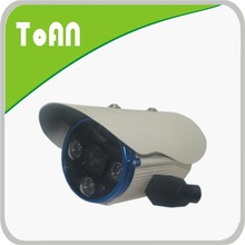 H.264 IR auto bullet style wireless ip camera with 4pcs ARRAY LED