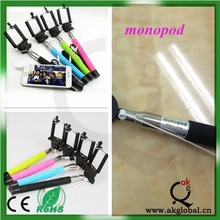 2015 products universal monopod for iphone samsung mobile phone selfie stick