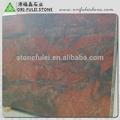 hollywood pedra vermelha para o balcão de mármore