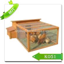 Deluxe Wooden Chicken Coop designs cage