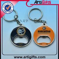 New fashion metal polyresin key chain
