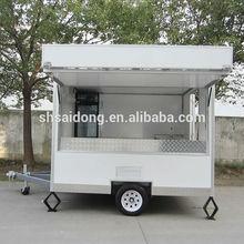 Hot dog food van food cart/shop van