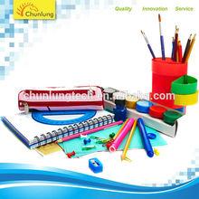 PVC paper desktop office stationery gift set 4