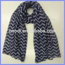 New Polyester chevron scarf