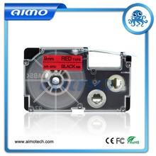 Waterproof label cassette XR-9RD for Casio