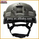MSA TC 2000 ACH /MICH2000 bulletproof helmet with side rails in NIJ IIIA level
