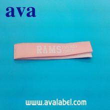 AVA clothing patches yellow overlocked edges