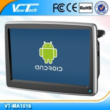 """10.1""""android headrest multimedia monitor 1280*800 with FM/IR USB/SD with CVBS input"""