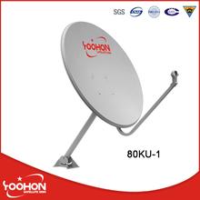 80cm KU Band Satellite Stainless Steel Dishes