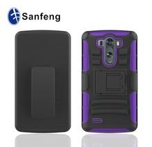 rugged combo kickstand case for Lg g3 mini phones/hybird skin phone cover for Lg g3 mini kickstand