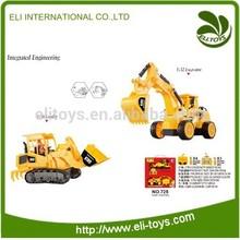 Grande 1:10 6ch radiocomando escavatore elettrico; escavatori giocattolo del rc