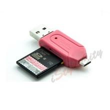 Micro USB Card Reader OTG For Cellphone