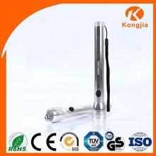 China Supplier 6 LED Aluminum Dry Battery AA Flashlight Ballpoint Pen