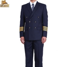 airline flying suit men pilot jacket uniform