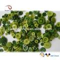 Différents vert, fantaisie. mixte. bouton en plastique pour la vente