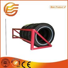 Fashion wall mounted truck tire storage rack