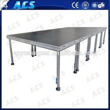 Factory Raise adjustable large stage equipment, lighting platform,lighting stage for trade show