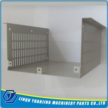 High Quality aluminum anodized natural stamping parts