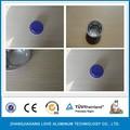 desechables inflight catering recubierto con diferentes colores de papel de aluminio contenedor