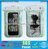 clear mobile phone pvc waterproof beach bag for iphone5